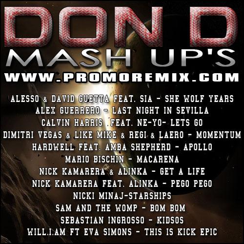 Don D - Mash Up's