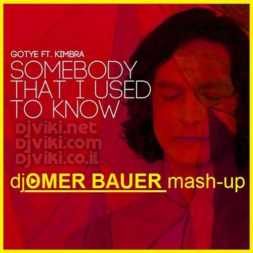 Gotye - Somebody I Used To Know  (Omer Bauer Mash-UP )