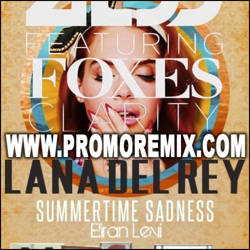 Lana Del Rey VS Zedd feat. Foxes - Clarity Summertime Sadness ( EliranLevi_Mashup)