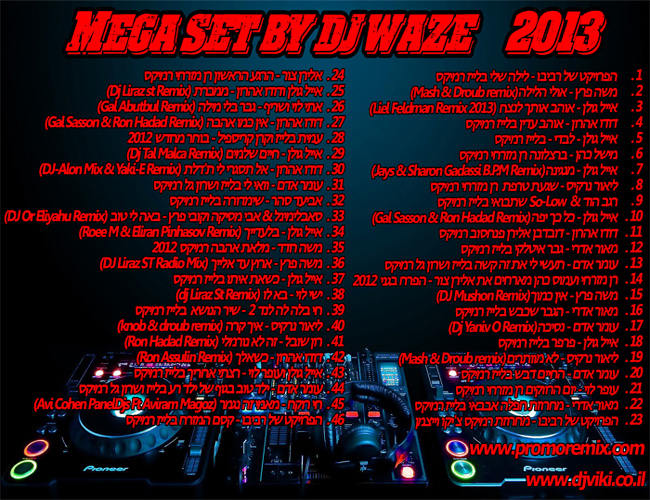 MEGA SET 2013 By Dj Waze
